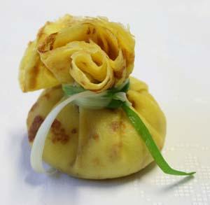 Kartoffel-Crepe-Säckchen